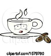 Poster, Art Print Of Cartoon Espresso Mug