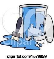 Poster, Art Print Of Cartoon Paint Bucket
