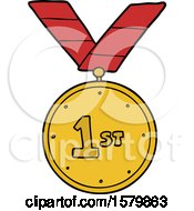 Cartoon Sports Medal