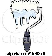 Poster, Art Print Of Cartoon Paint Roller
