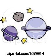 Poster, Art Print Of Cartoon Planets