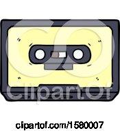 Cartoon Old Cassette Tape