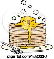 Stack Of Tasty Pancakes