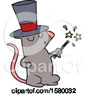 Cartoon Mouse Magician