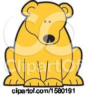 Poster, Art Print Of Cute Sitting Bear