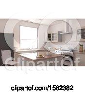 Poster, Art Print Of 3d Kitchen Interior