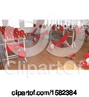 Poster, Art Print Of 3d Gym Interior