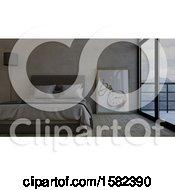 Poster, Art Print Of 3d Bedroom Interior