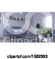 Poster, Art Print Of 3d Living Room Interior