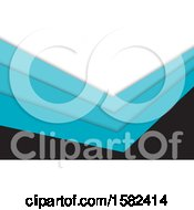 White Black And Blue Business Card Or Background Design