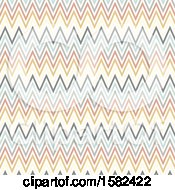 Clipart Of A Chevron Pattern Background Royalty Free Vector Illustration