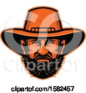 Clipart Of A Mascot Of General Ulysses S Grant Royalty Free Vector Illustration by patrimonio