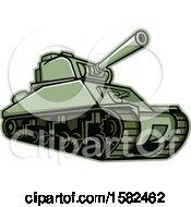 Military M4 Sherman Tank