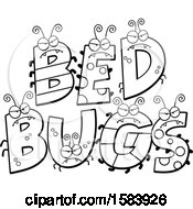 Lineart Bed Bugs Design
