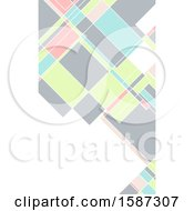 Geometric Business Card Background Design