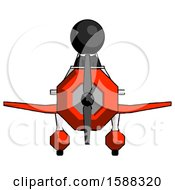 Black Clergy Man In Geebee Stunt Plane Front View