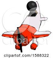 Black Clergy Man In Geebee Stunt Plane Descending Front Angle View