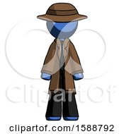 Blue Detective Man Standing Facing Forward