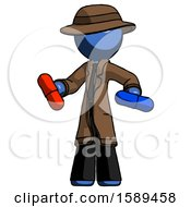 Blue Detective Man Red Pill Or Blue Pill Concept