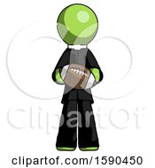 Green Clergy Man Giving Football To You