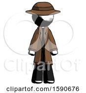 Ink Detective Man Standing Facing Forward