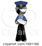 Ink Police Man Giving Football To You