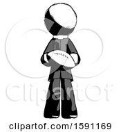 Ink Clergy Man Giving Football To You