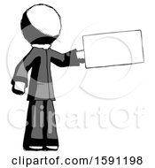 Ink Clergy Man Holding Large Envelope