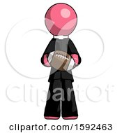 Pink Clergy Man Giving Football To You