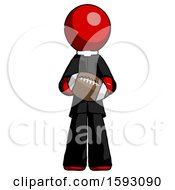 Red Clergy Man Giving Football To You