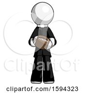 White Clergy Man Giving Football To You