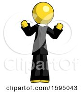 Yellow Clergy Man Shrugging Confused