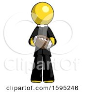 Yellow Clergy Man Giving Football To You