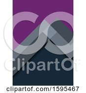 Geometric Purple And Gray Background