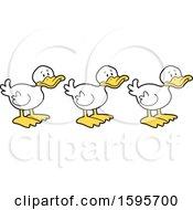 White Ducks In A Row