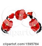 Poster, Art Print Of Red Poppy Flower Design