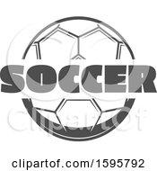 Grayscale Soccer Design
