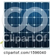 Clipart Of A Solar Panel Royalty Free Vector Illustration by Vector Tradition SM