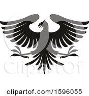 Black And White Heraldic Eagle