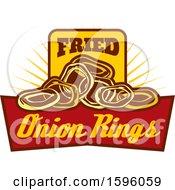 Fried Onion Rings Food Design