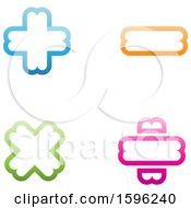 Clipart Of Math Symbols Royalty Free Vector Illustration
