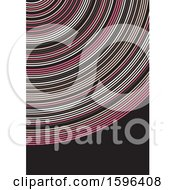 Clipart Of A Background Of Rings Royalty Free Vector Illustration