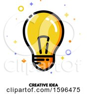 Creative Idea Light Bulb Icon