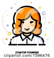 Female Startup Founder Icon