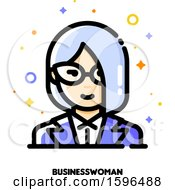 Business Woman Avatar Icon