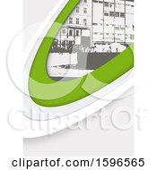 Green White And Gray Urban Background