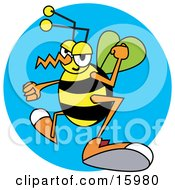 Poster, Art Print Of Grumpy Wasp With Clenched Fists
