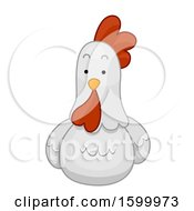 Poster, Art Print Of Resting Hen