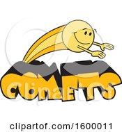 Comet School Mascot