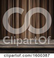 3d Wood Surface And Wall